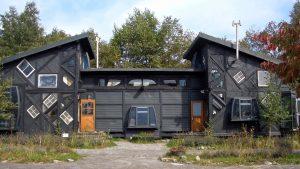 Casas recicladas materiales