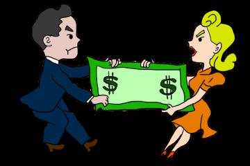 reparto de bienes gananciales en caso de divorcio