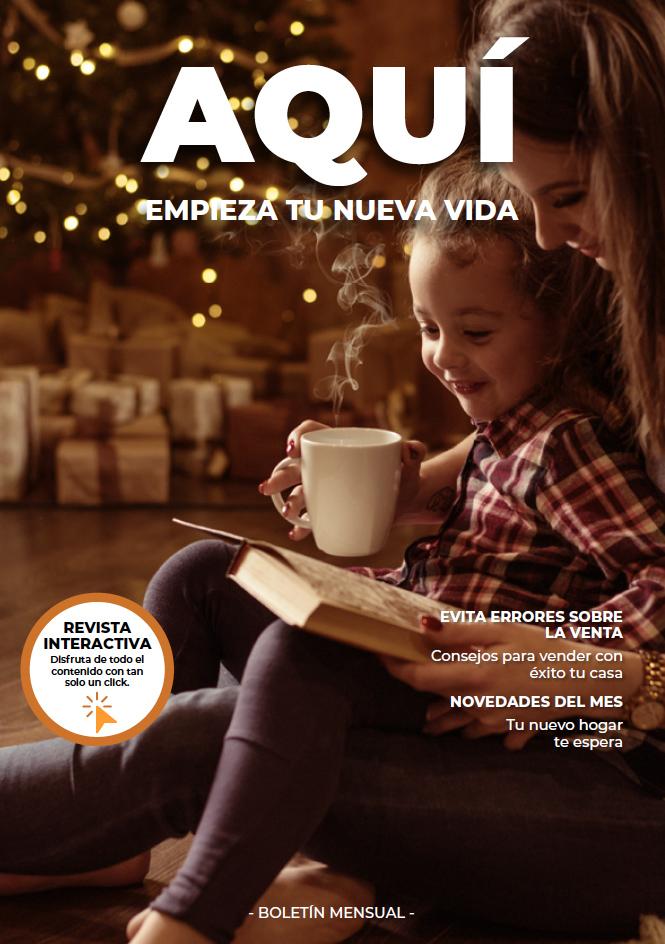 portada boletín Diciembre Inmobiliaria Palanca