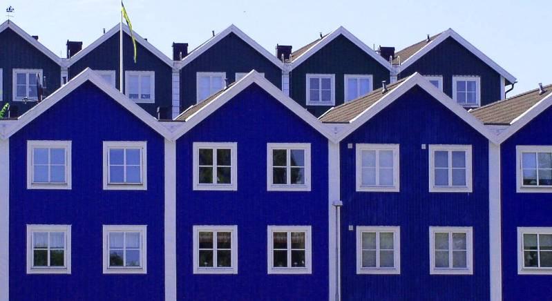casas pareadas en Suecia