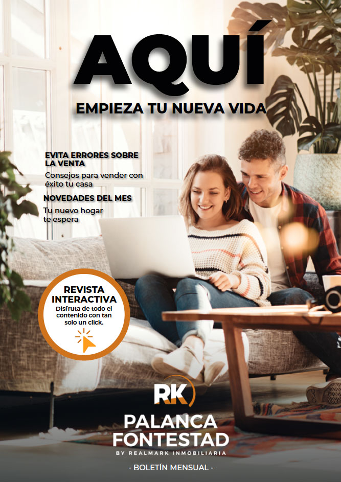 portada Boletín Mensual Febrero Inmobiliaria Palanca