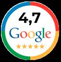 Valoración de la Inmobiliaria Palanca en Google